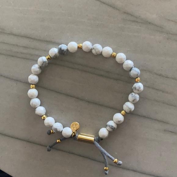 Gorjana gently worn bracelet